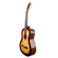 Brown 6-String Basswood Classical Guitar