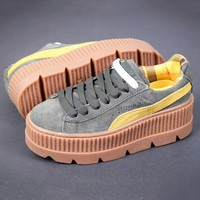 PUMA Fenty Creeper Women Casual Running Sport Shoes Sneakers Roses G-A-YYMY-XY