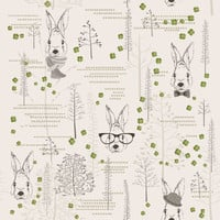 Lucky Rabbit Removable Wallpaper Decal
