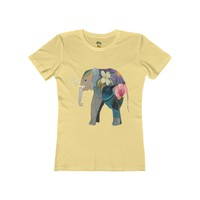 Elephant - Women's The Boyfriend Tee T Shirt