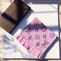Louis Vuitton Woman Men Fashion Cashmere Warm Cape Scarf Scarves