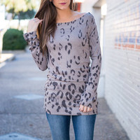 Look At Meow Tunic, Gray