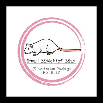 Small Mischief Mail Package │Rat │Subscription