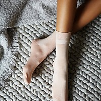Hansel From Basel Womens Small Talk Ankle Sock