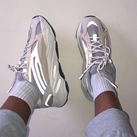 Adidas Yeezy 700 V2 Cream Men and Women's Sneakers Shoes