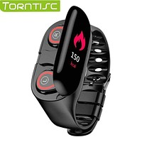 Torntisc Newest AI Smart Watch With Bluetooth Headphone Heart Rate Monitor Smart Wristband...