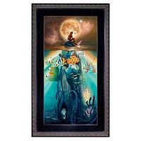 Framed Limited-Edition ''Fathoms Below'' The Little Mermaid Giclée   Disney Store