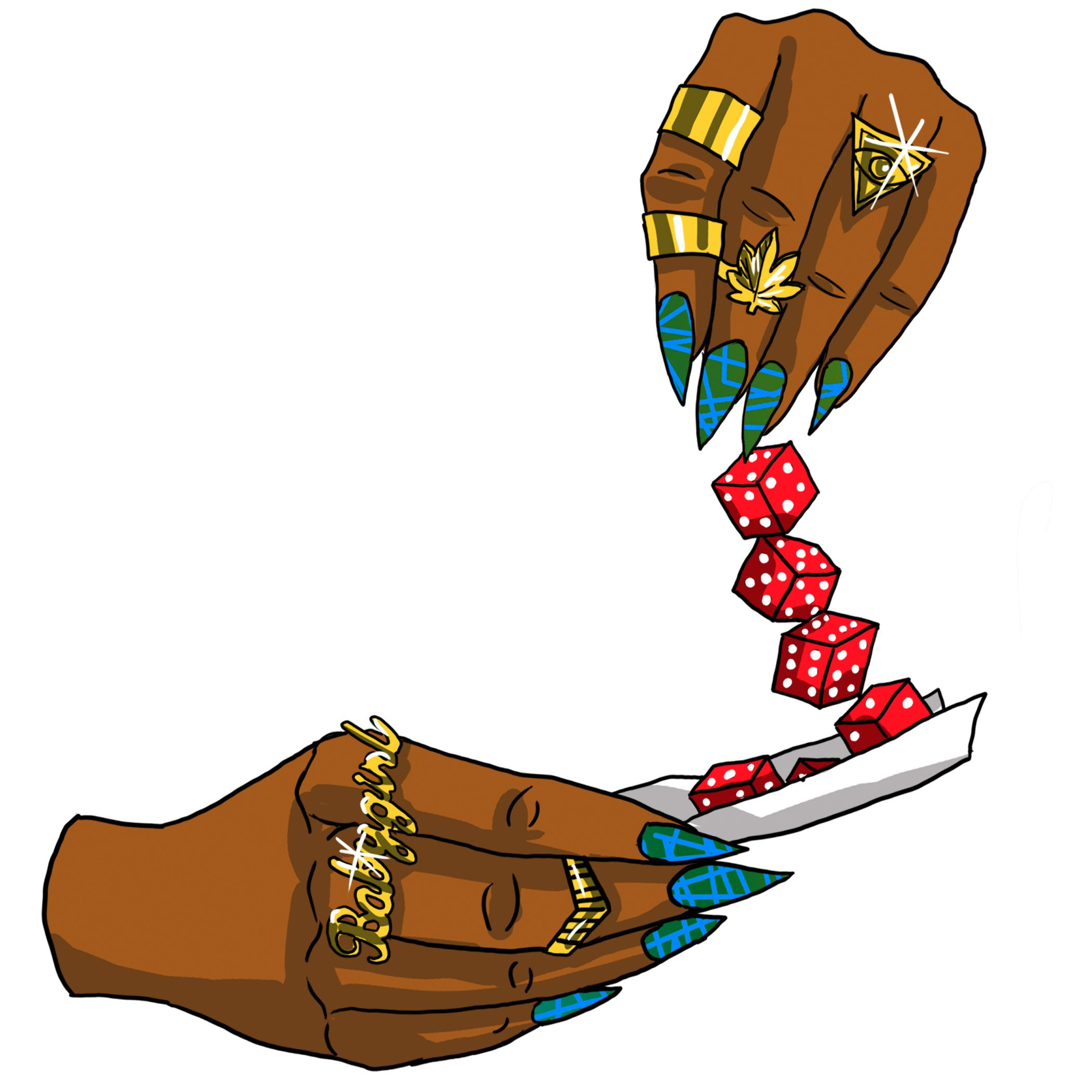 Image of Roll The Dice Sticker