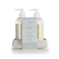 Mineral Thyme Hand Wash and Lotion Set