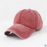 blank soft washed baseball hat plain snapback dad cap women men hiphop sports cap trucker bone gorras for male female