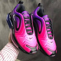 Air Max 720 Nike  Fashion Women Personality Air Cushion Sport Running Shoes Sneakers