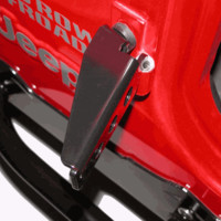 All Things Jeep - Jeep Foot Pegs for Jeep CJ, Wrangler YJ, TJ, and LJ Unlimited (1955-2006)
