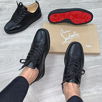 Christian Louboutin Black bottom casual shoes