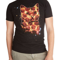 Quirky Long Short Sleeves Pizza Pie in the Sky