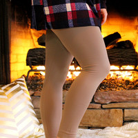 Legs For Days Leggings - Khaki