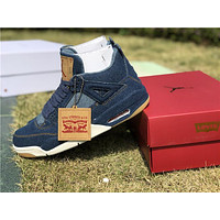 Air Jordan 4 Retro Levis NRG A02571 401 Basketball Shoes