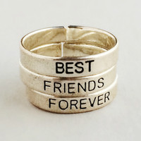 Best Friends Forever Ring Set