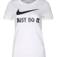"""Nike"" Vintage Unisex Loose Casual Letter Logo Print Couple Short Sleeve T-shirt Top Tee"