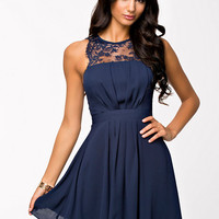 Chiffon Skater Dress, Elise Ryan