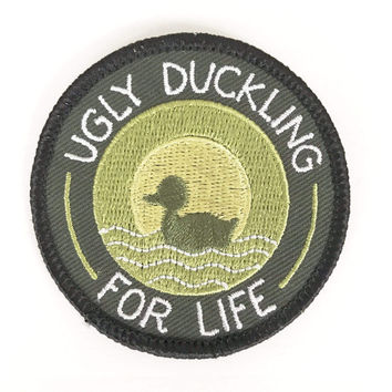 Ugly Duckling For Life Iron-On Patch