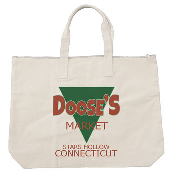 Doose's Market gilmore girls Tote bags. Black or Natural color