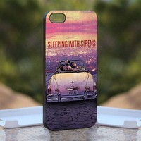 Sleeping With Sirens Sound, Print on Hard Cover iPhone 5 Black Case