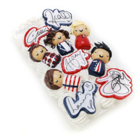 One Direction 3D Decoden Phone Case