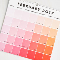 Tone Day at a Time 2016-2017 Wall Calendar | Mod Retro Vintage Desk Accessories | ModCloth.com