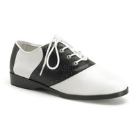 Funtasma Black and White Saddle Shoes