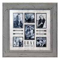 ''Love Never Fails'' Collage Frame
