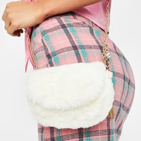 Fuzzy Feelz Crossbody Bag