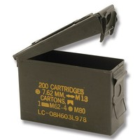 New .30 Caliber Steel Ammo Can M19A1 Waterproof Storage Box Made in USA by Milspec Military Manufacturer