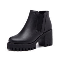 On Sale Hot Deal Winter Casual Dr. Martens Black Boots [6366188996]