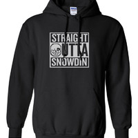 Undertale Sans Straight outta Snowdin Compton Parody Hoodie Hooded Sweat shirt Sweatshirt