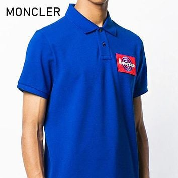 MONCLER Summer Men Women Short Sleeve Polo Shirt Top Blouse