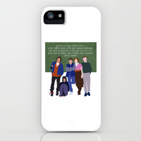 The Breakfast Club iPhone & iPod Case by TeenageNobody