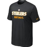 Pittsburgh Steelers Nike JDI Black T-Shirt - Official Online Store