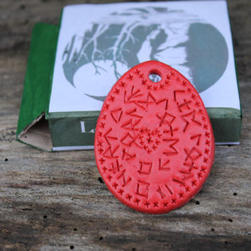 Love talisman, love charm, to attract love, runic script, love spell, magic spells, magic necklace, spell necklace, valentines day spell