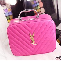 YSL Fashion New Leather Women Leisure Storage Bag Cosmetic Bag