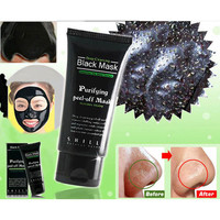 [BIG SALE] Deep Cleansing Purifying Peel Off Mud Blackhead Face Mask Black Mask Remove Black Head Makeup Beauty Gift