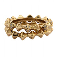 House of Harlow 1960 Jewelry Spike Stack Ring Set