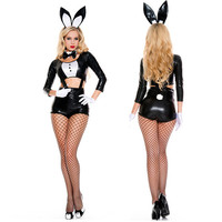 Sexy Bunny Costumes Rabbit Women Suspenders Lady Role Playing Sexy Lingerie Suit DS Dance Costume Stage Loaded Uniform