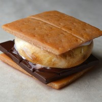 S'more Dessert Magnet, Polymer Clay