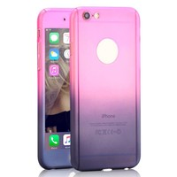 iPhone 6S Plus Case,GBSELL Colorful Luxury Ultra-thin Shockproof Armor Back Case Cover for iPhone 6S Plus 5.5inch (Pink Gray )