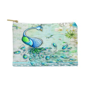 Madart Inc. Peacock Princess Pouch