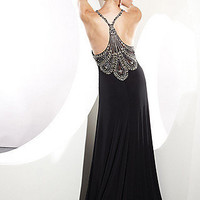 Prom Dresses, Celebrity Dresses, Sexy Evening Gowns at PromGirl: Black Formal Gown by Terani