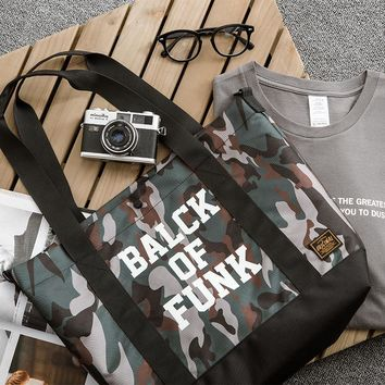 Camouflage Tote Bag Casual Messenger Bags Shoulder Bag [15187312659]