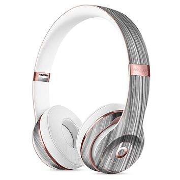 Textured Gray Dyed Surface Full-Body Skin Kit for the Beats by Dre Solo 3 Wireless Headphones