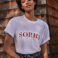 Project Social T Sorry Tee | Urban Outfitters