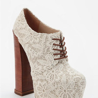 Urban Outfitters - DV8 By Dolce Vita Lace Flower Platform Pump